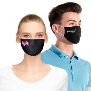 Standard Flat Cotton Face Mask with Pocket for Filter Insert (Direct Import - 7-8 Week Ocean)